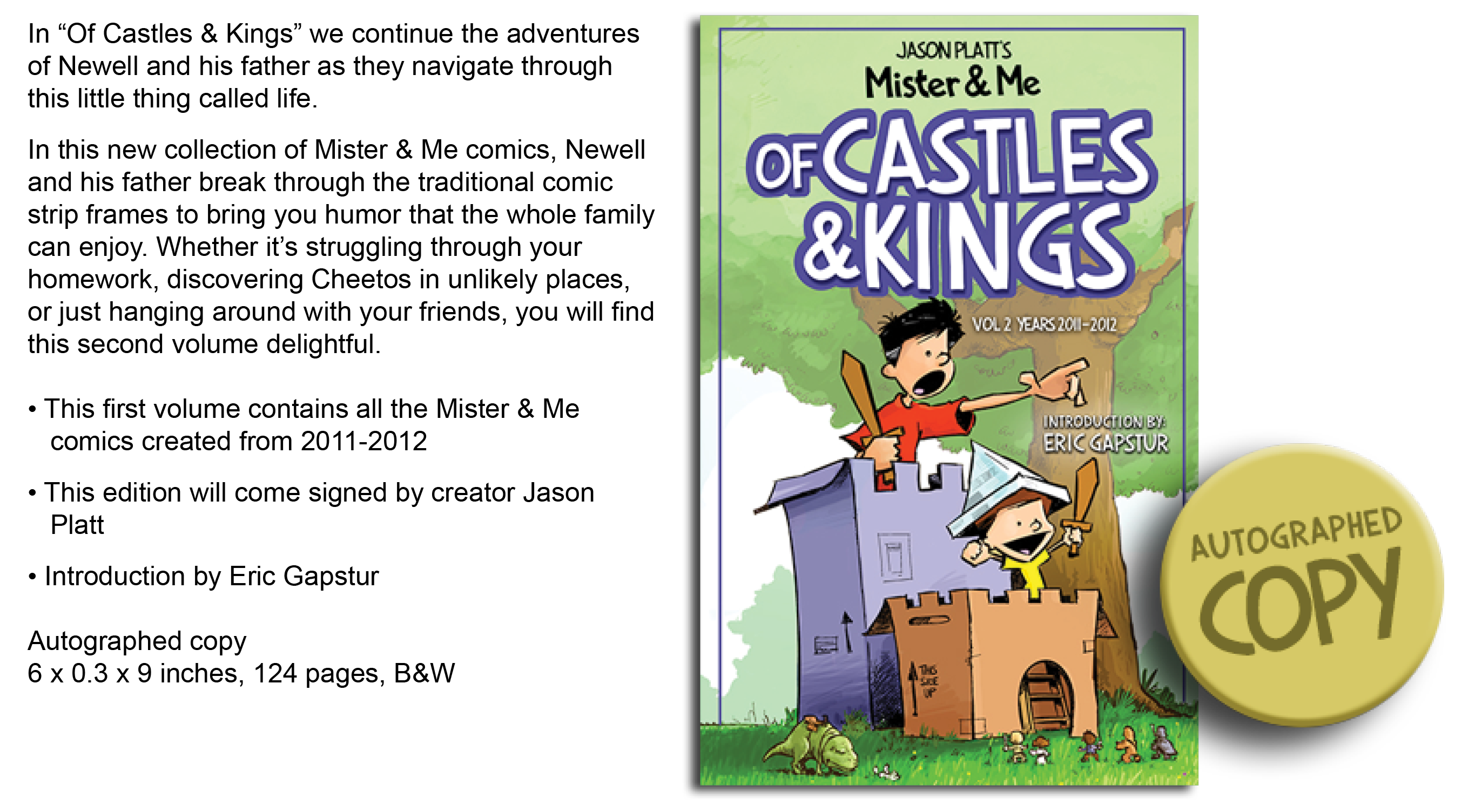Castles & Kings Cover WebStore With Descriptions