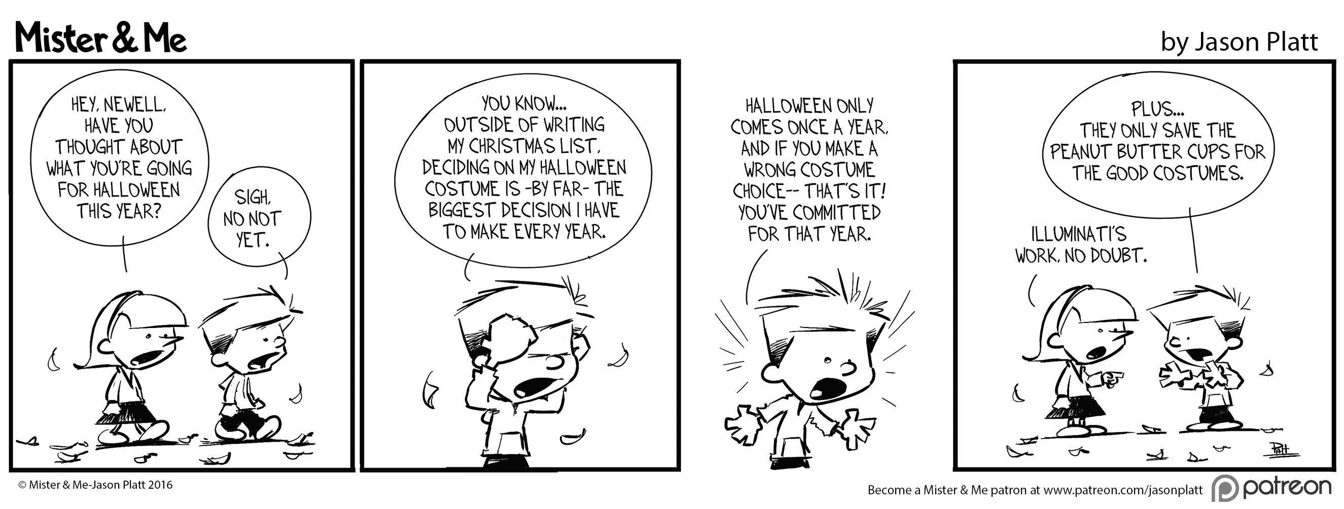 Gearing Up for Halloween